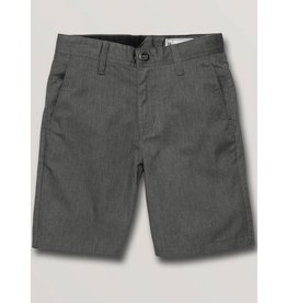 volcom Volcom - Short junior frickin chino charcoal heather