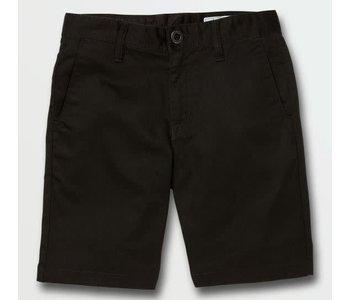 Volcom - Short junior frickin chino black
