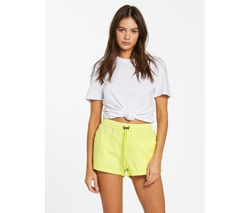 Volcom - Short femme coco twill tropical yellow