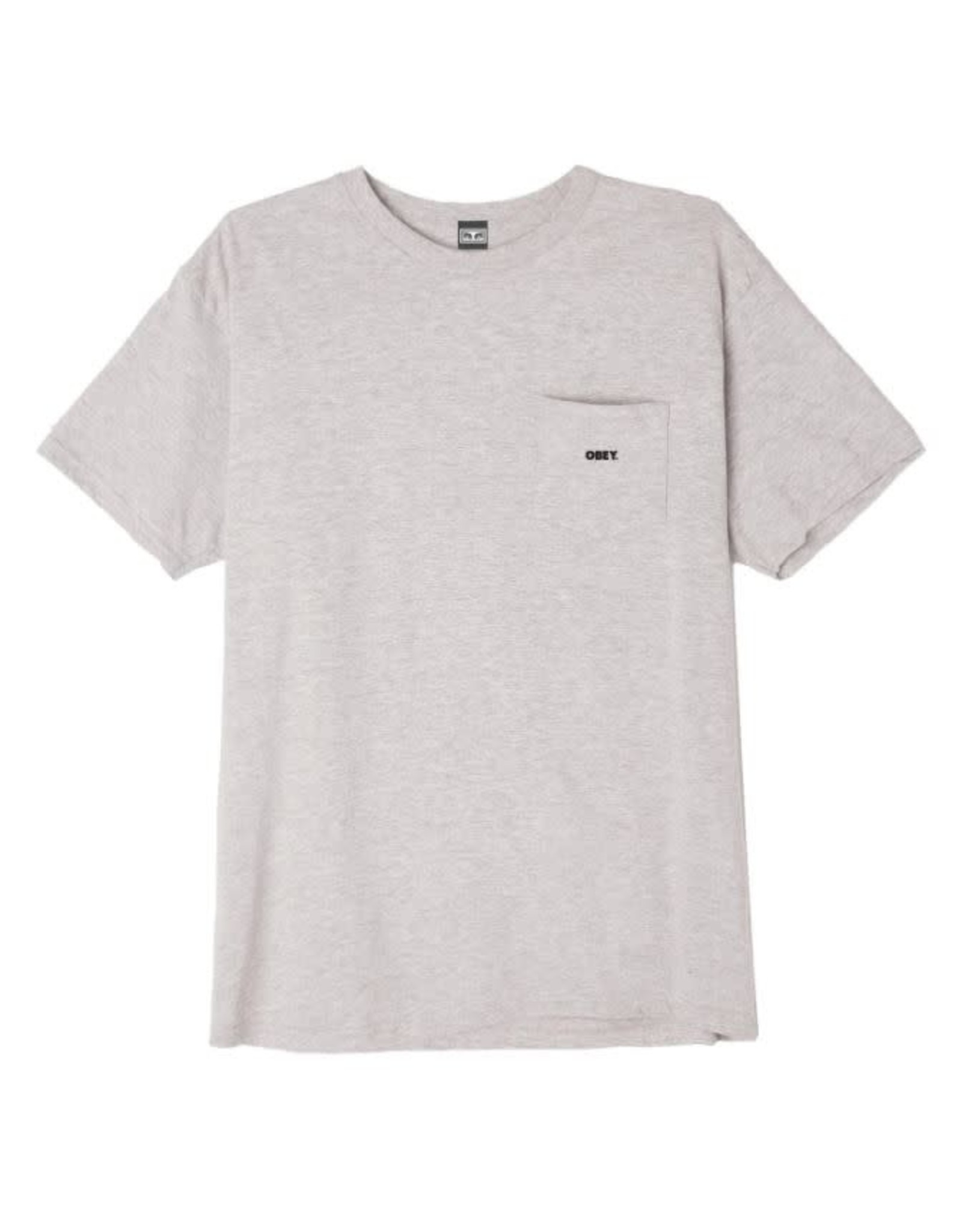 Obey Obey - T-shirt homme obey bold knit heather grey