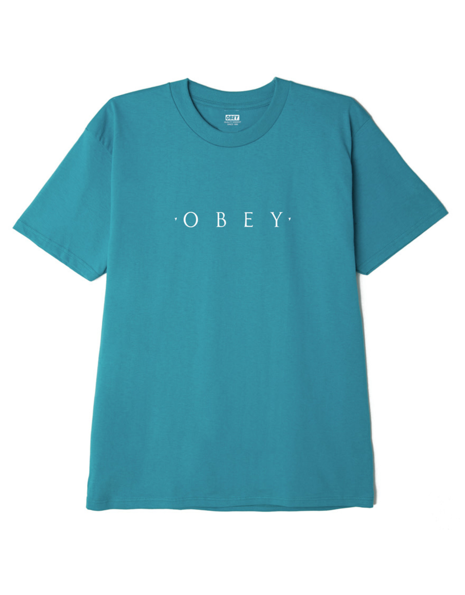 Obey Obey - T-shirt homme novel obey classic teal