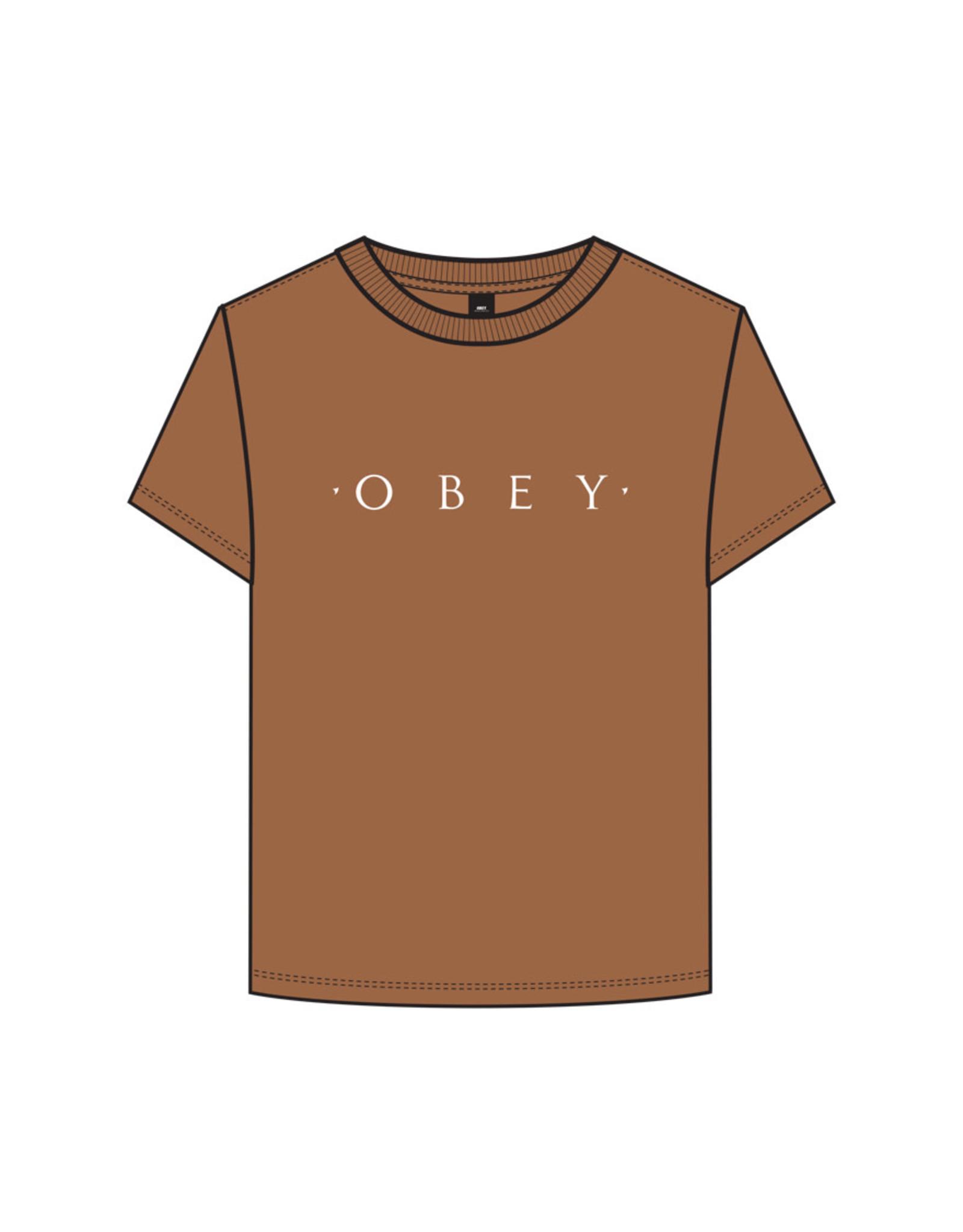 Obey Obey - T-shirt femme novel obey custom box adobe