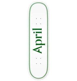 April Skateboard April Skateboard - Skateboard og logo helix green