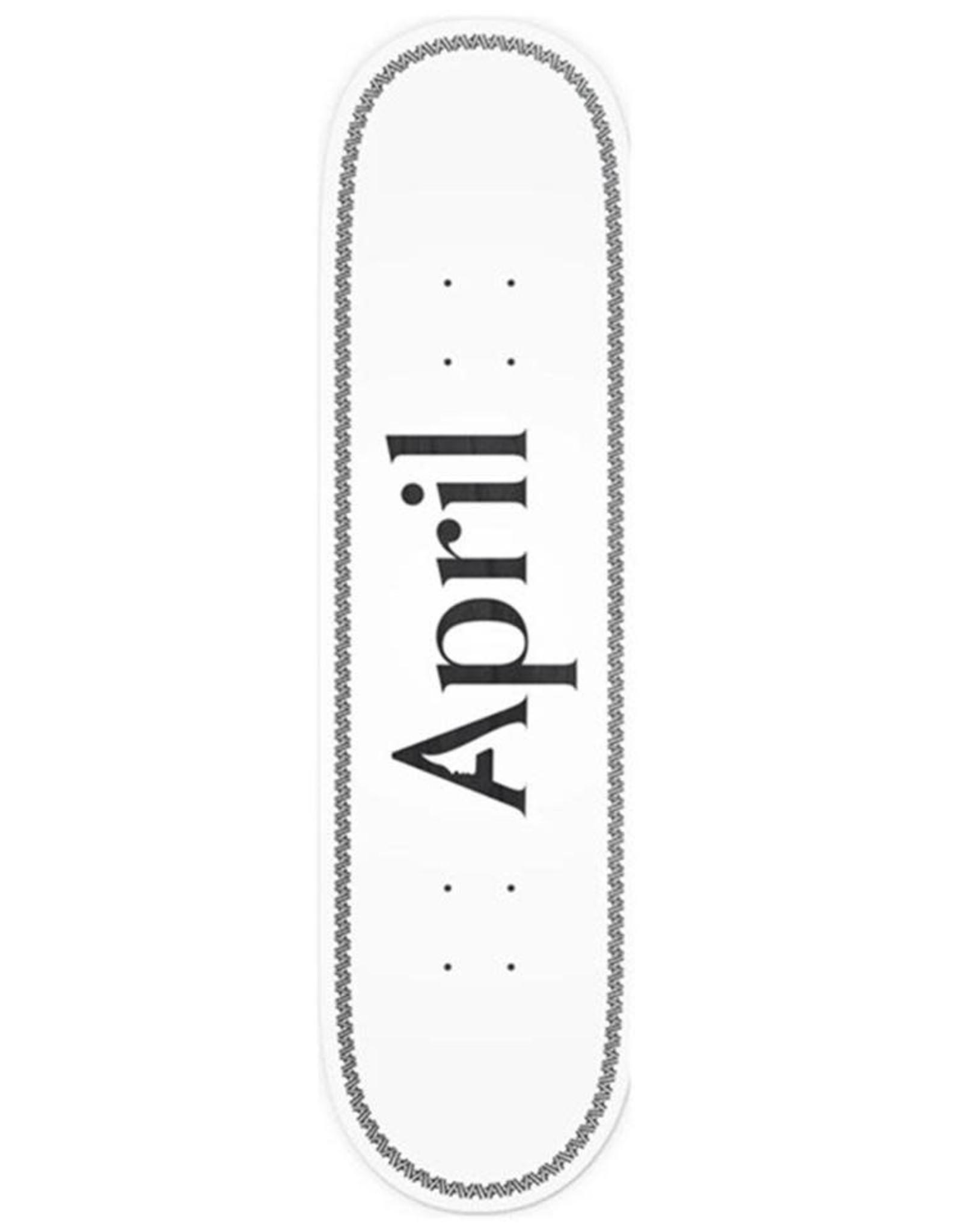 April Skateboard April Skateboard - Skateboard og logo helix black