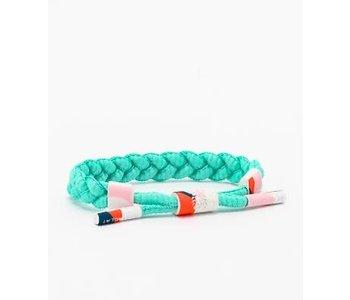 Rastaclat - Bracelet femme easy middle turquoise