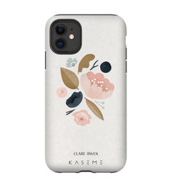 Kaseme Kaseme - Etui cellulaire iPhone peony by clara owen