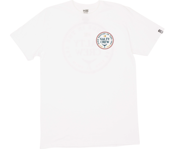 Salty Crew - T-shirt junior fathom standard white