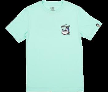 Salty Crew - T-shirt junior chillin sea foam