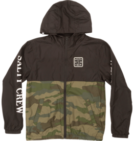 salty crew Salty Crew - Imperméable junior s-hook black camo