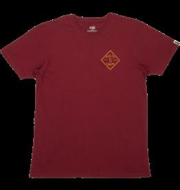 salty crew Salty Crew - T-shirt homme tippet premium burgundy