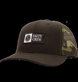 salty crew Salty Crew - Casquette homme pinnacle retro trucker black/camo