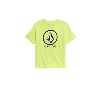 Volcom - T-shirt toddler crisp stone highlighter green