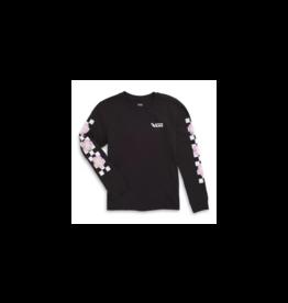vans Vans - Chandail long junior bloom checkz black
