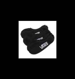 vans Vans - Bas homme super no show 3 pack black