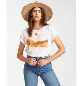 billabong Billabong - T-shirt femme endless horizon salt crystal