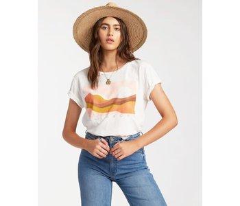 Billabong - T-shirt femme endless horizon salt crystal