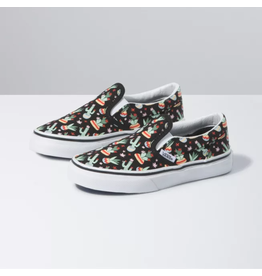 vans Vans - Soulier junior classic slip-on cactus/black