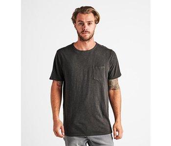 Roark - T-shirt homme well worn midweight knit charcoal