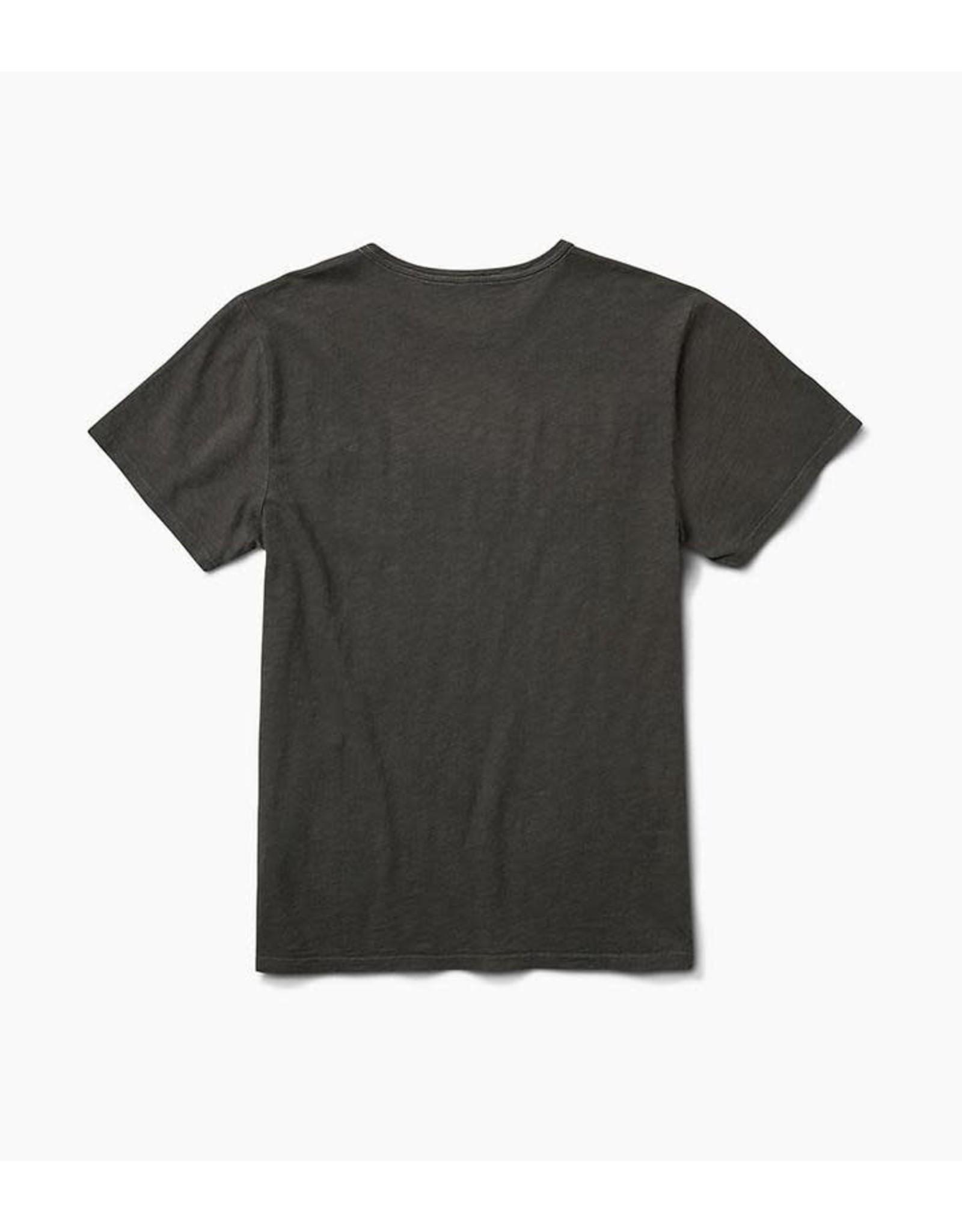 Roark Roark - T-shirt homme well worn midweight knit charcoal
