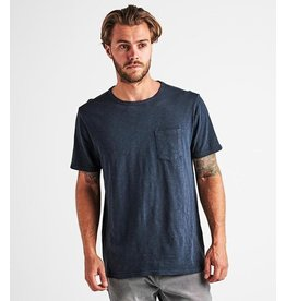 Roark Roark - T-shirt homme well worn midweight knit navy