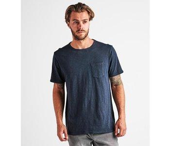 Roark - T-shirt homme well worn midweight knit navy
