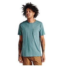 Roark Roark - T-shirt homme well worn midweight knit marine blue
