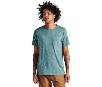 Roark - T-shirt homme well worn midweight knit marine blue