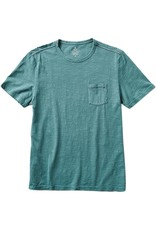 Roark Roark - T-shirt homme well worn midweight knit marine blue