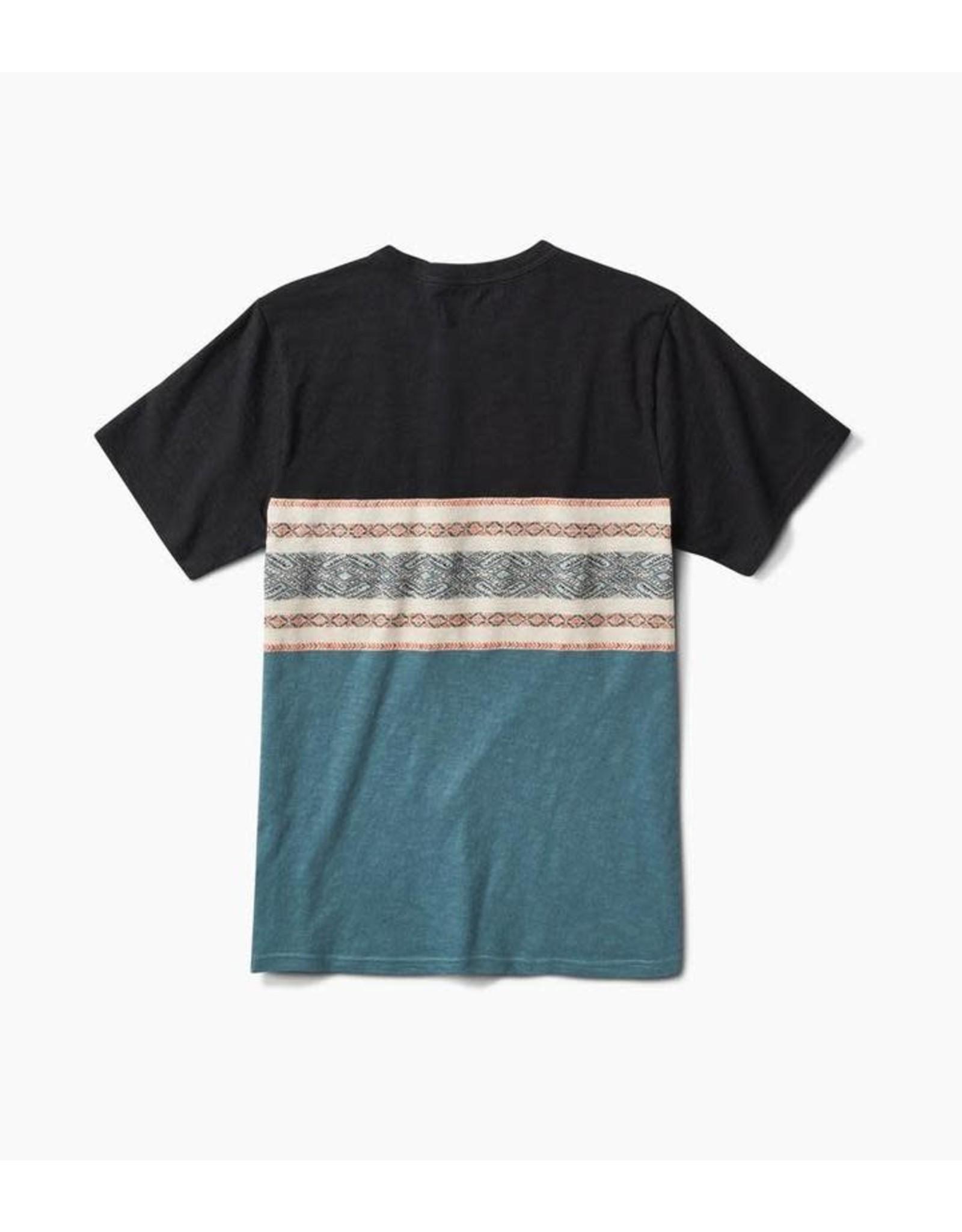 Roark Roark - T-shirt homme kilim jacquard knit black