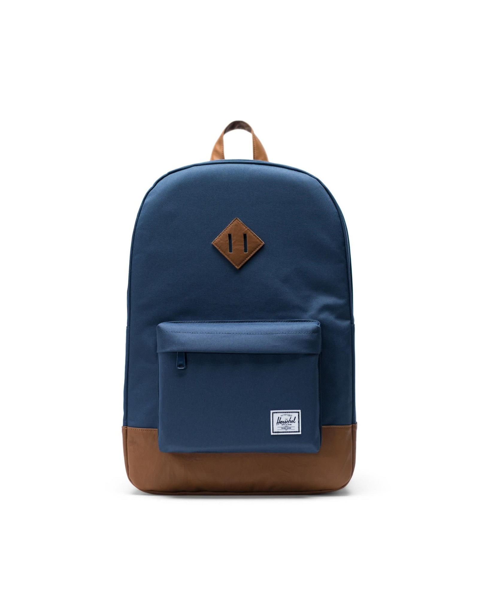 herschel Herschel - Sac à dos heritage navy/tan synthetic leather