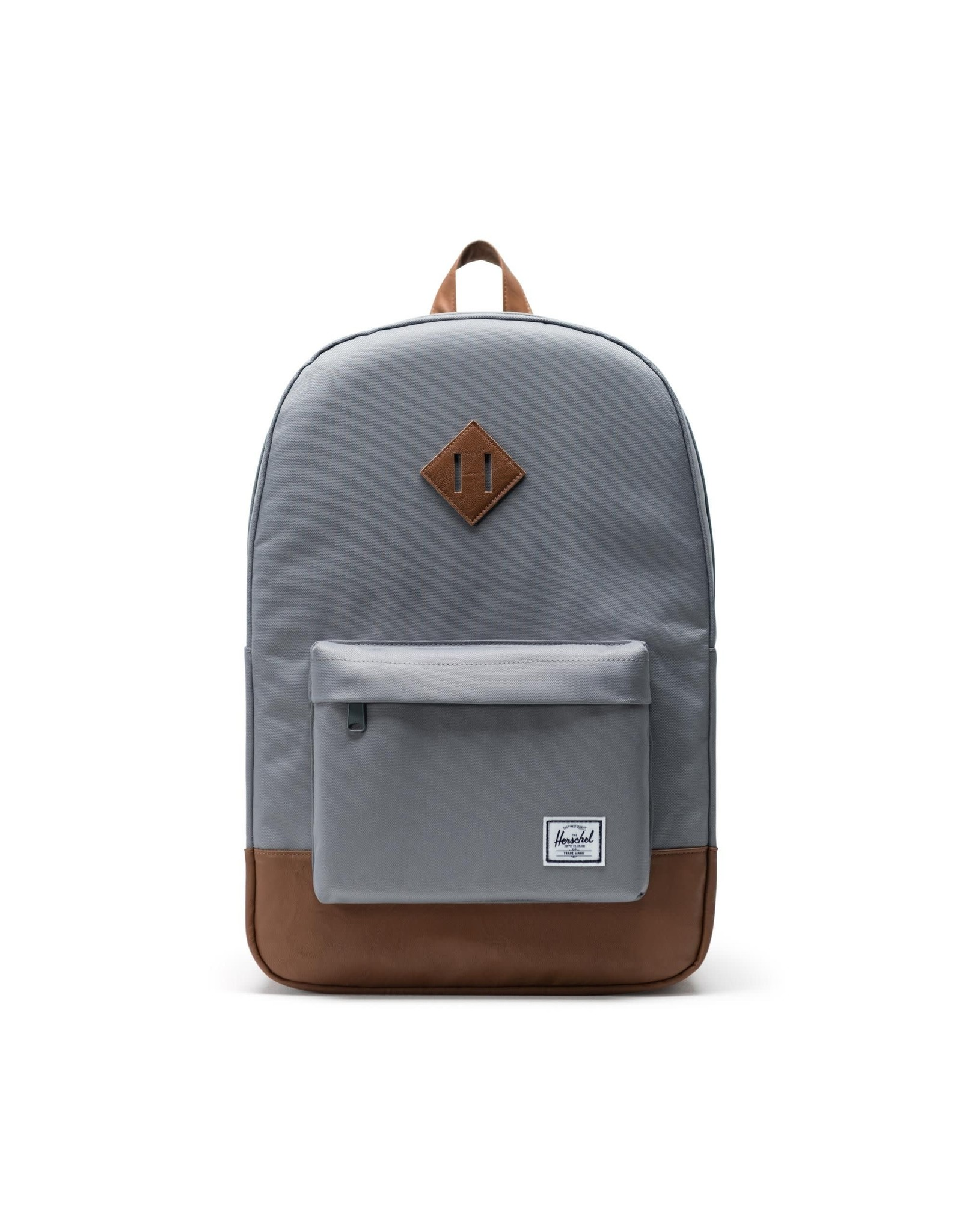 herschel Herschel - Sac à dos heritage grey/tan synthetic leather