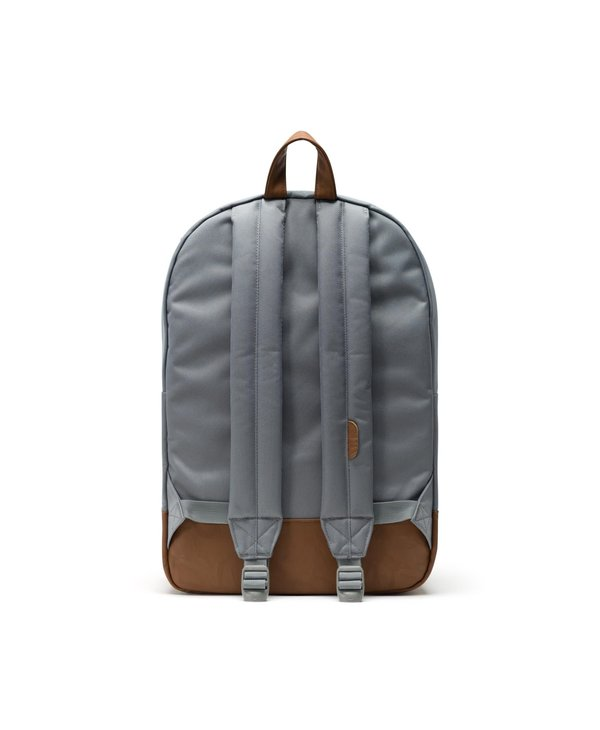 Herschel - Sac à dos heritage grey/tan synthetic leather