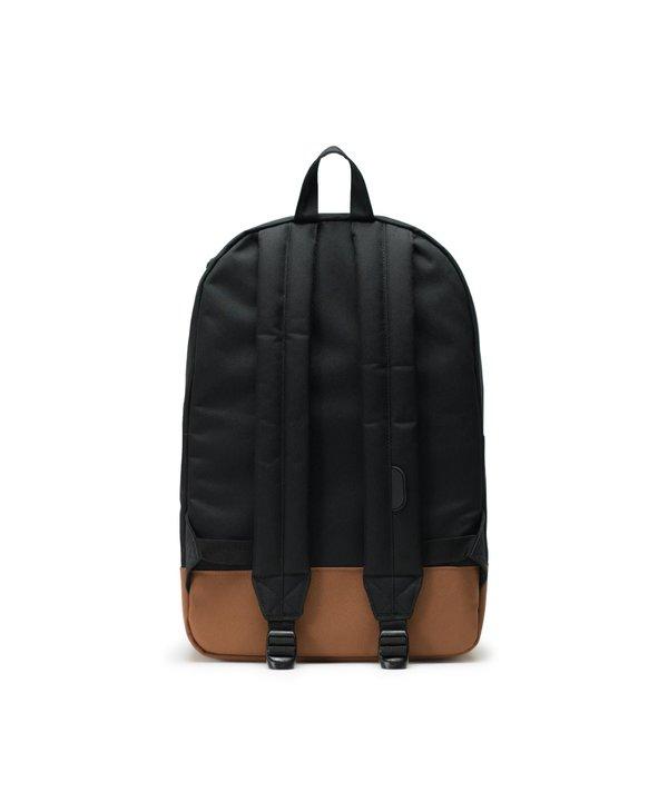 Herschel - Sac à dos heritage black/saddle brown