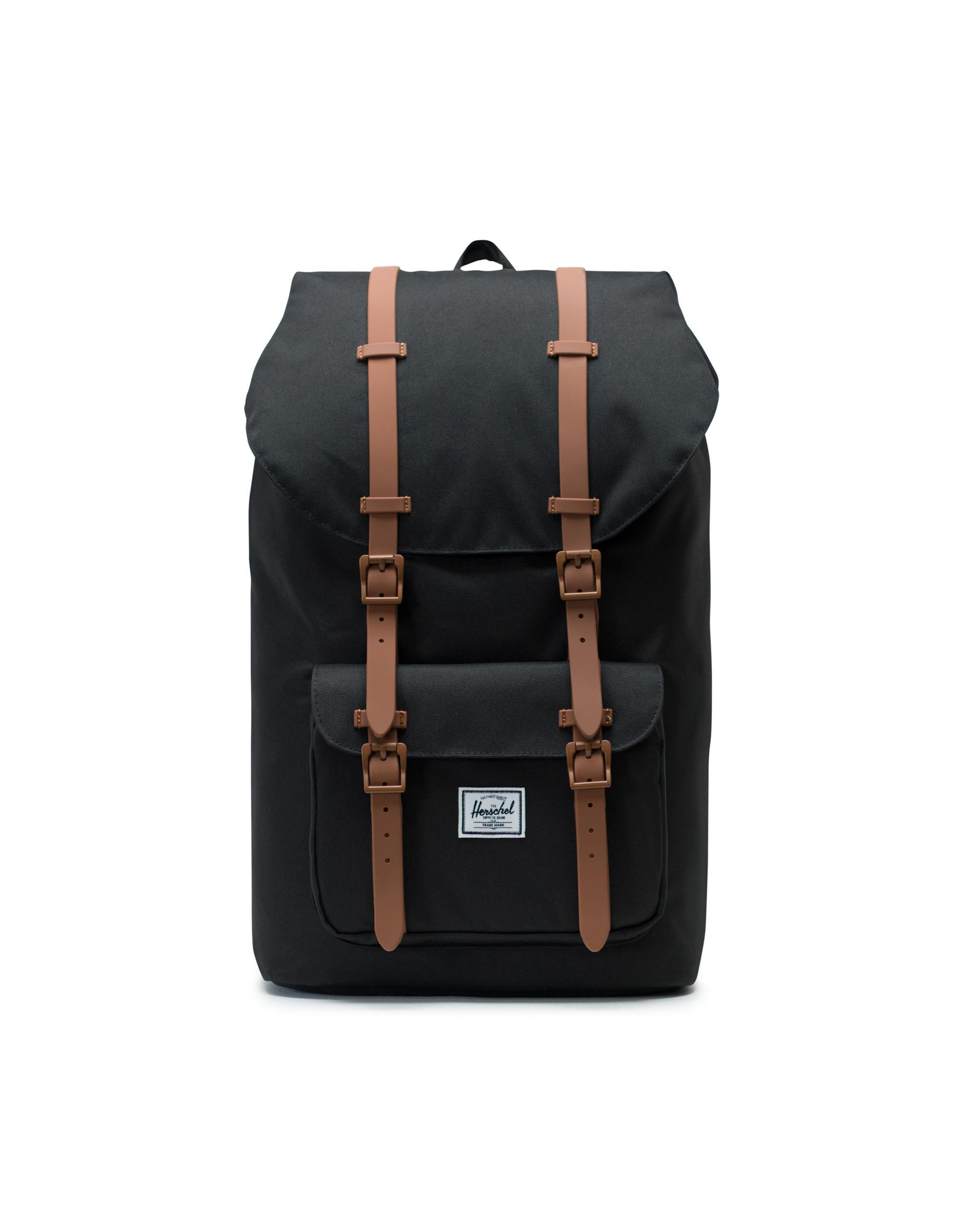 herschel Herschel - Sac à dos little america black/saddle brown