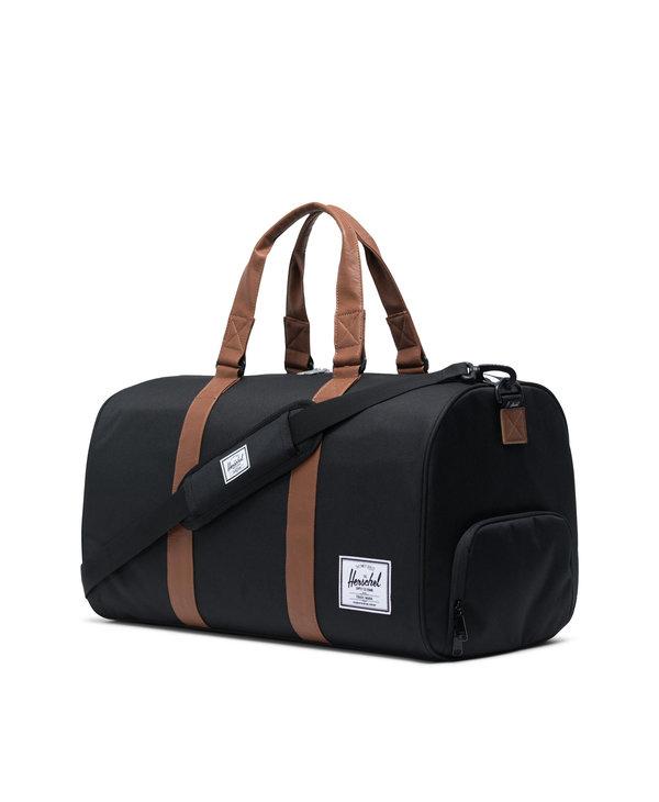 Herschel - Sac transport novel black/tan synthetic leather