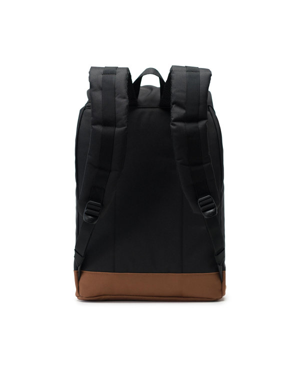 Herschel - Sac à dos retreat black/saddle brown