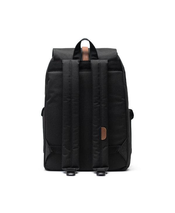 Herschel - Sac à dos dawson black/tan synthetic leather