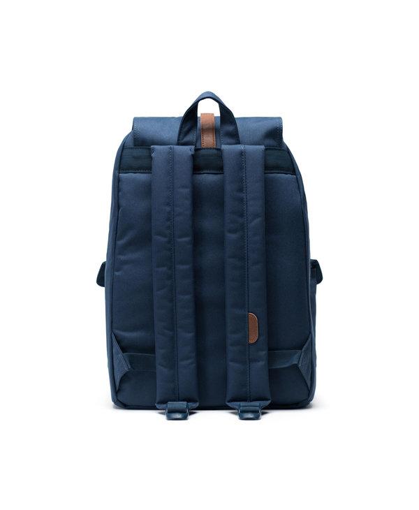 Herschel - Sac à dos dawson navy-tan synthetic leather