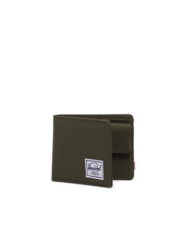 Herschel - Portefeuille roy coin ivy green