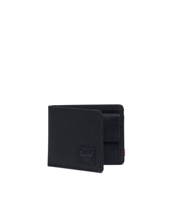 Herschel - Portefeuille roy coin black/black