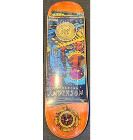 Anti hero Anti Hero - Skatebord Brian Anderson maps to the skaters homes