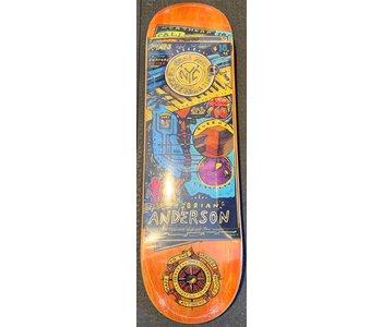Anti Hero - Skatebord Brian Anderson maps to the skaters homes