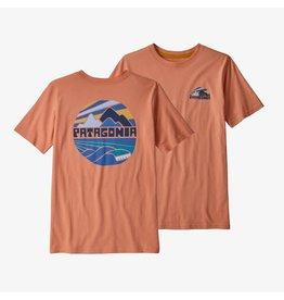 Patagonia Patagonia - T-shirt junior fitz roy rights mellow melon