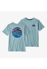 Patagonia Patagonia - T-shirt junior fitz roy rights big sky blue