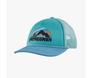 Patagonia - Casquette junior interstate fitz roy rights lago blue