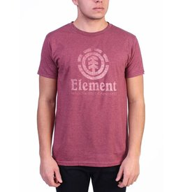 element Element - T-shirt homme vert push burgundy heather