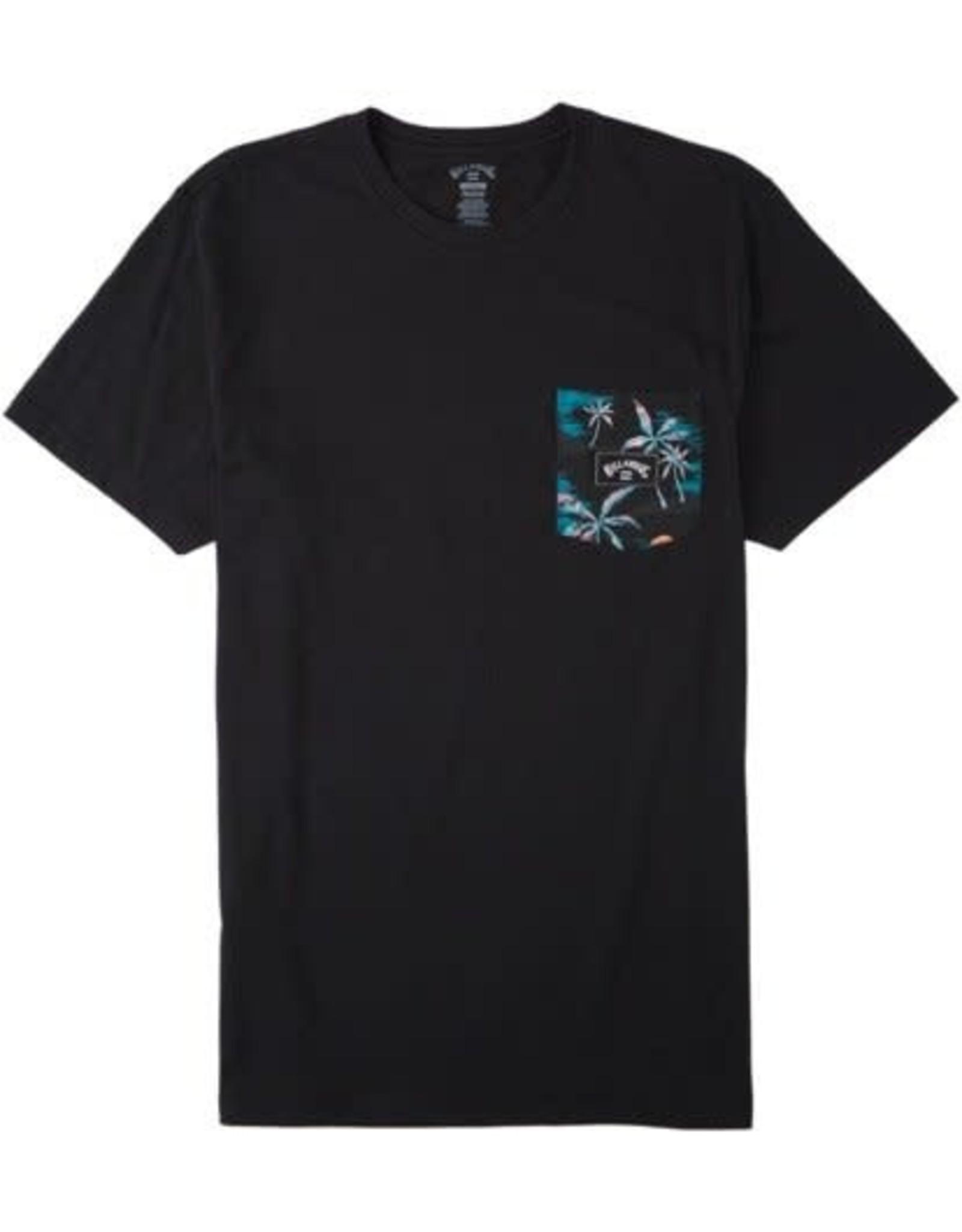 billabong Billabong - T-shirt homme team pocket black