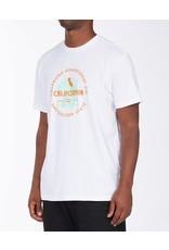 billabong Billabong - T-shirt homme seal california white