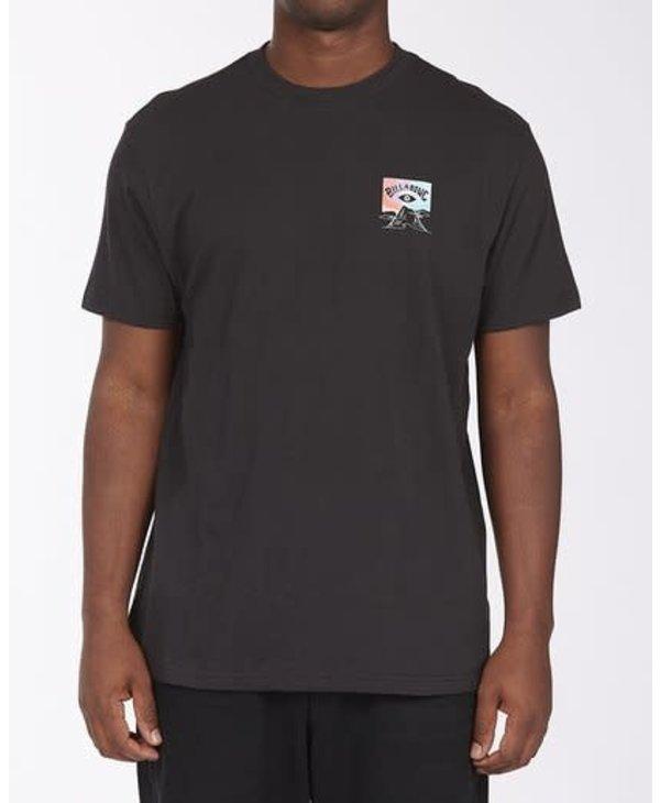Billabong - T-shirt homme eyesolation arch black