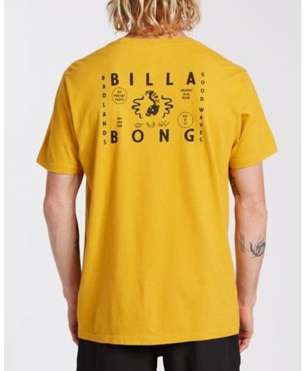 Billabong - T-shirt homme badlands mustard
